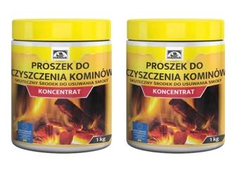 Proszek koncentrat do czyszczenia komina 2kg